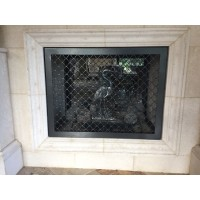 Fireplace grills